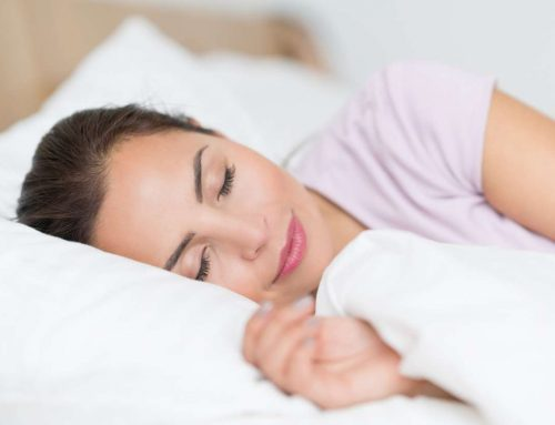 A day in the life of a healthy person: GET A GOOD, LONG SLEEP.